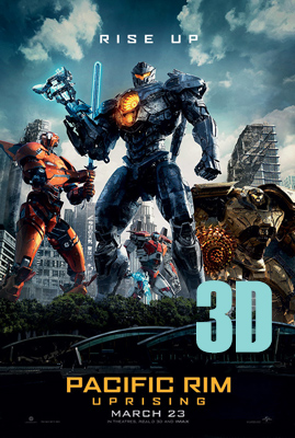 Pacific Rim: Uprising 3D
